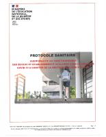 Protocole sanitaire relatif aux ecoles et etablissements scolaires (1)